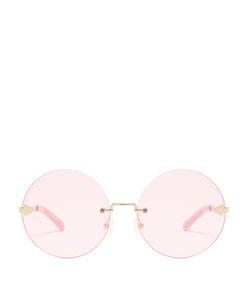 KAREN WALKER EYEWEAR | Disco Circus Round-Frame Sunglasses