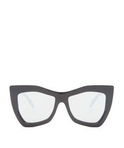 Le Specs | Kick It Oversized Mirrored Sunglasses