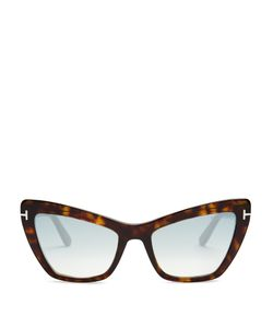 Tom Ford Eyewear | Valesca Mirro Cat-Eye Sunglasses