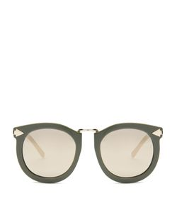 KAREN WALKER EYEWEAR | Super Lunar Oversized Sunglasses