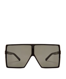 Saint Laurent | Betty Oversized Square-Frame Sunglasses