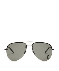 Saint Laurent | Classic Aviator Metal Sunglasses