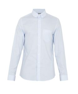 Gucci | Striped Cotton-Oxford Shirt