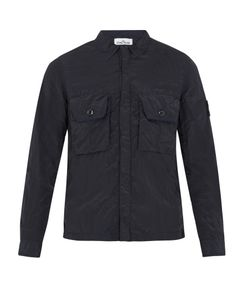 Stone Island | Point-Collar Lightweight Overshirt