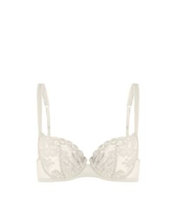 La Perla | Primrose Field Lace Plunge Bra