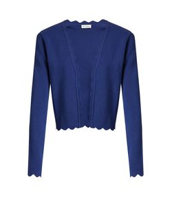 Altuzarra | Hughes Open-Front Scallop-Edged Cardigan