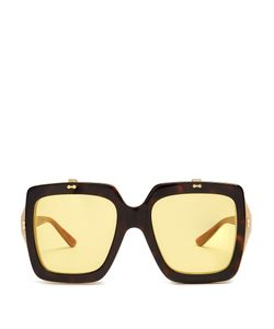 Gucci | Oversized Square-Frame Acetate Sunglasses