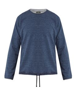 HELBERS | Raw-Edge Cotton Sweatshirt