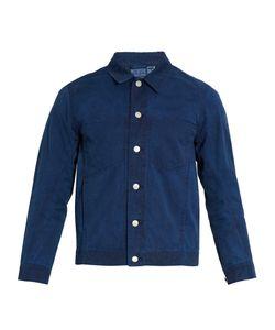 Blue Blue Japan | Point-Collar Cotton Jacket