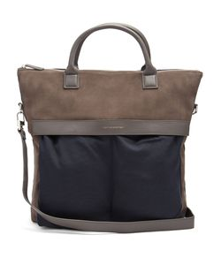 Want Les Essentiels | Ohare Suede And Canvas Tote