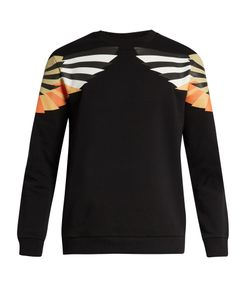 Givenchy | Cuban-Fit Wing-Print Cotton Sweatshirt