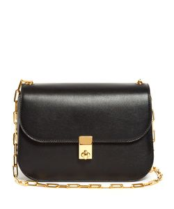 Valentino | Link-Chain Leather Cross-Body Bag