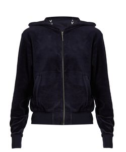 THE UPSIDE | Orlando Hooded Velour Performance Top