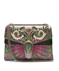 Gucci | Dionysus Embellished Brocade Shoulder Bag