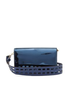 Diane Von Furstenberg | Soiree Patent-Leather Cross-Body Bag
