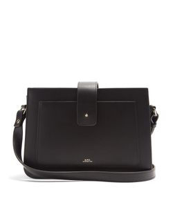 A.P.C. | Albane Leather Cross-Body Bag