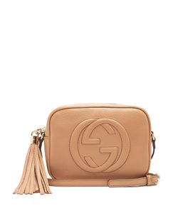 Gucci | Soho Grained-Leather Cross-Body Bag