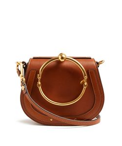 Chloe | Nile Small Leather And Suede Cross-Body Bag