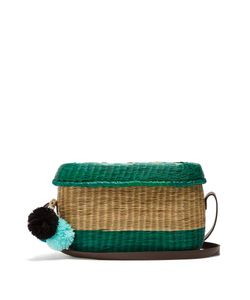 Sophie Anderson | Costelo Striped Wicker Shoulder Bag