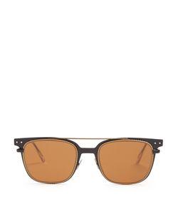 Bottega Veneta | Wayfarer Intrecciato-Engraved Sunglasses