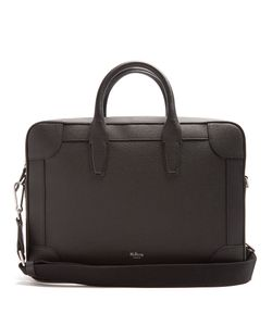 Mulberry | Belgrave Grained-Leather Briefcase