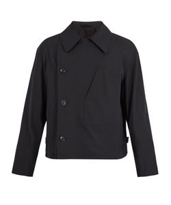 LEMAIRE | Double-Breasted Wool And Cotton-Blend Jacket