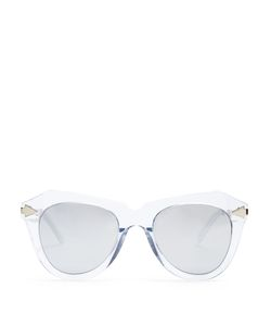 KAREN WALKER EYEWEAR | One Star Cat-Eye Sunglasses
