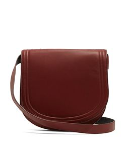 Diane Von Furstenberg | Large Saddle Leather Cross-Body Bag