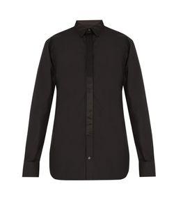 Alexander McQueen | Contrast-Trim Button-Cuff Cotton Shirt