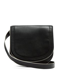 Diane Von Furstenberg | Small Saddle Leather Cross-Body Bag