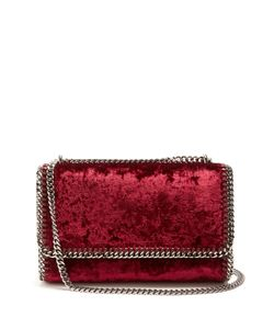 Stella Mccartney | Falabella Mini Velvet Cross-Body Bag