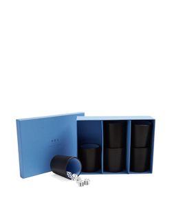 Smythson   Grosvenor Leather Perudo Set
