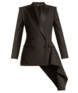 Alexander McQueen | Asymmetric-Drape Double-Breasted Jacket