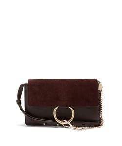 Chloe | Faye Small Suede And Leather Cross-Body Bag