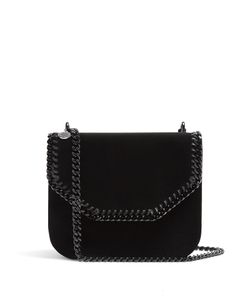Stella Mccartney | Falabella Box Medium Velvet Cross-Body Bag