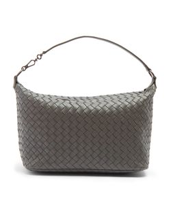 Bottega Veneta | Intrecciato-Woven Leather Shoulder Bag