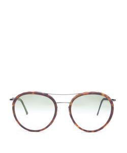 CUTLER & GROSS   1085 Round-Frame Sunglasses