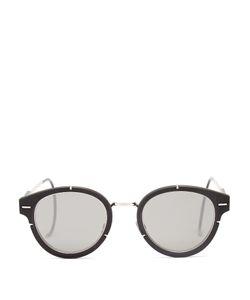DIOR HOMME SUNGLASSES | Magnitude 0.1 Round-Frame Sunglasses