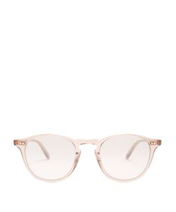 GARRETT LEIGHT | Hampton 46 Round-Frame Acetate Sunglasses