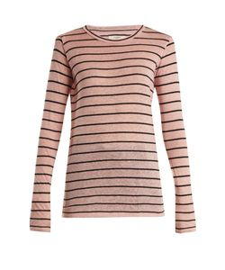 Isabel Marant Étoile | Aaron Striped Linen-Blend T-Shirt