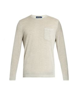 Polo Ralph Lauren | Long-Sleeved Cashmere T-Shirt