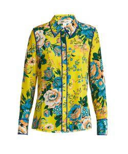 Diane Von Furstenberg | Bournier Print Silk Crepe De Chine Shirt