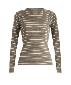 Brunello Cucinelli | Striped Wool And Cashmere-Blend Sweater