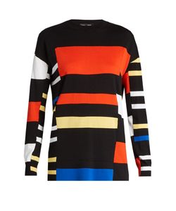 Proenza Schouler | Cotton And Silk-Blend Knit Top