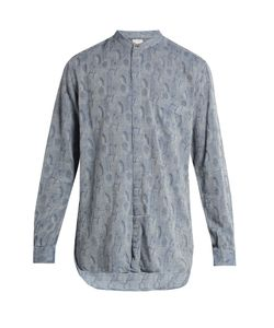 Paul Smith | Collarless Jacquard Shirt