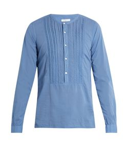 Boglioli | Collarless Cotton Shirt