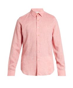 Paul Smith | Point-Collar Linen Shirt