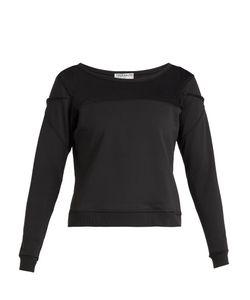 Track & Bliss | Mesh-Panel Insert Sweatshirt
