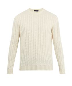 Thom Sweeney | Crew-Neck Cable-Knit Cashmere Sweater