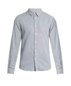 Éditions M.R | Striped Cotton-Blend Shirt